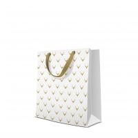 10 Geschenktaschen Premium - Deer Antlers white