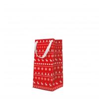 10 Geschenktaschen - Knitted Christmas