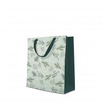 10 Geschenktaschen Premium - Delicate Twigs mint