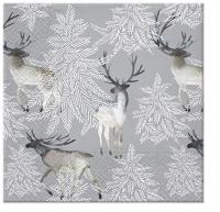 Servietten 25x25 cm - Elks Forest
