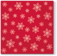Servietten 25x25 cm - Stars Everywhere (red)