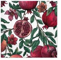 Servietten 25x25 cm - Pomegranate