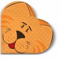 Servietten - Rund Pedigree Cat