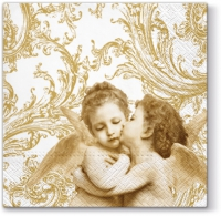 Lunch Servietten Sweet Angels (gold)