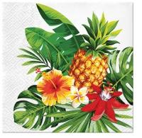 Servietten 33x33 cm - Pineapple