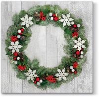 Servietten 33x33 cm - Welcome Christmas