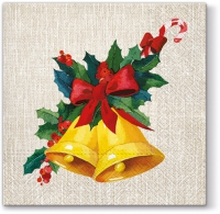 Servietten 33x33 cm - Jingle Bells