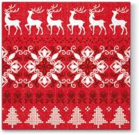 Servietten 33x33 cm - Warme Weihnachten