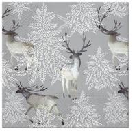 Servietten 33x33 cm - Elks Forest