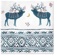 Servietten 33x33 cm - Ethno Deers