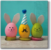 Servietten 33x33 cm - Eggs Party