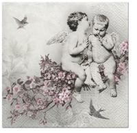 Servietten 33x33 cm - Angelic Chic