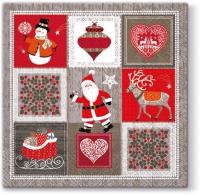 Servietten 33x33 cm - Weihnachtsbilder
