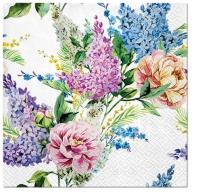 Servietten 33x33 cm - Spring Lilac
