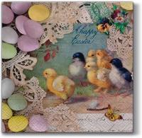 Lunch Servietten Easter Letter