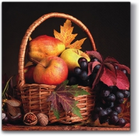 Lunch Servietten Autumn Basket