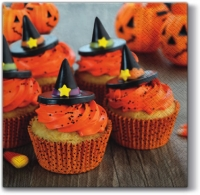 Lunch Servietten Halloween Muffins