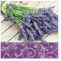 Servietten 33x33 cm - Lavender in the Country