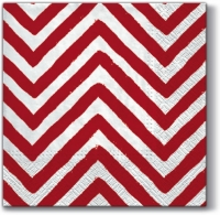 Servietten 33x33 cm - Big Chevron