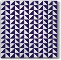 Servietten 33x33 cm - Lanes of Triangles violet