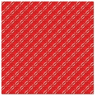 Servietten 33x33 cm - Inspiration Modern (red)