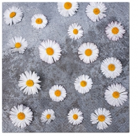 Servietten 33x33 cm - Daisies Love