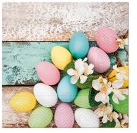 Servietten 33x33 cm - Pastel Easter