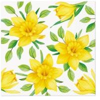 Servietten 33x33 cm - Daffodils in Bloom