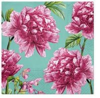 Servietten 33x33 cm - Beautiful Peonies