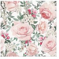 Servietten 33x33 cm - Gorgeous Roses