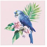 Servietten 33x33 cm - Exotic Parrot