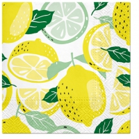 Servietten 33x33 cm - Tasty Lemons