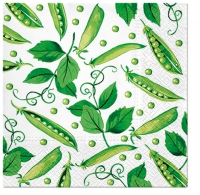 Servietten 33x33 cm - Fresh Green Pea