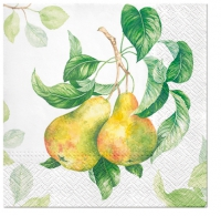 Servietten 33x33 cm - Garden Pear