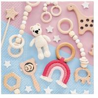Servietten 33x33 cm - Lovely Toys