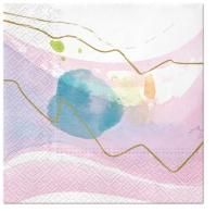 Servietten 33x33 cm - Watercolor Paint