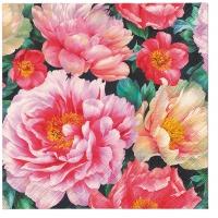 Servietten 33x33 cm - Peonies Bloom