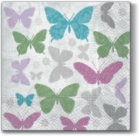 Servietten 33x33 cm - Aroma Soft Butterflies