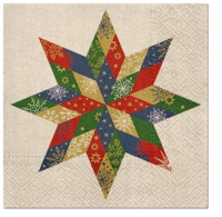 Servietten 33x33 cm - Fornir Star