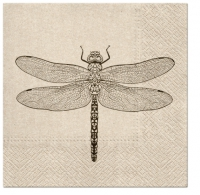 Servietten 33x33 cm - We Care Dragonfly