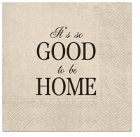 Servietten 33x33 cm - We Care Good to be Home