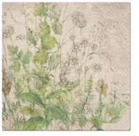 Servietten 33x33 cm - We Care Meadow