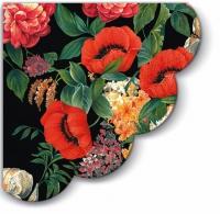 Servietten - Rund Nostalgic Bouquet
