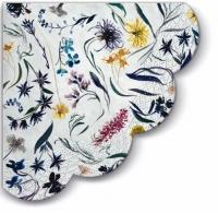 Servietten - Rund - Flowers Memory