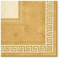 Servietten 33x33 cm - Athena (beige)