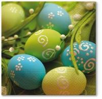 Servietten 33x33 cm - Spring Eggs