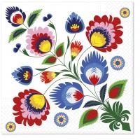 Servietten 33x33 cm - Popular Pattern