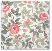 Lunch Servietten Misty Roses