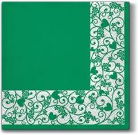 Lunch Servietten Chic Frame (green)