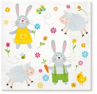 Servietten 33x33 cm - Easter Joy